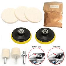Glass Polisher Kits For Deep Scratches 8 OZ Cerium Oxide Powder Polishing Pads