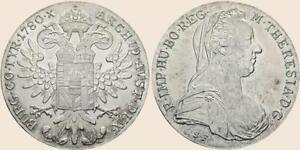 Maria-Theresien-Taler Nachprägung  Silber ab 12,00 Euro