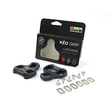 LOOK KÉO GRIP 0º Anti-Slip Road Cleats for Bike Bicycle Pedals - Black x Gray