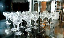Vintage servizio di bicchieri per 12