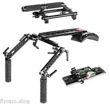 CAMTREE Dovetail Shoulder Mount Rig Top Handle & Base Plate For Red One Camera