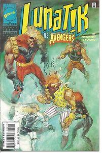 Marvel #002 - Jan 96 - Lunatik Vs Avengers - 5.0 - Used (C-6)