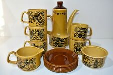 Vintage 1970's Royal Worcester Group Palissy England Zodiac Star Signs Tea Set