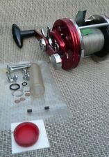 VERY CLEAN ABU 9000 AMBASSADEUR MULTIPLIER REEL+ SPARES -SHORE/BOAT SEA FISHING