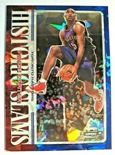 Vince Carter 2019-20 Contenders Optic Historic Slams BLUE Cracked Ice SP #2