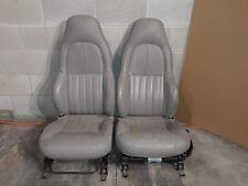 97-04 Corvette C5 Standard Seat Set Grey Seats Aa6352