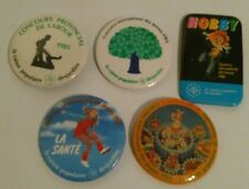 Caisse Populaire POP Desjardins Button Pin macaron lot of 5