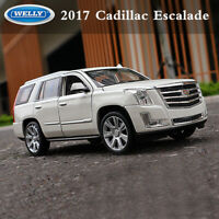 Welly 1:24 Scale White 2017 Cadillac Escalade SUV Car Alloy Model Toys Ornament