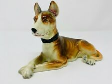 Occupied Japan Great Dane Figurine, Occupied Japan Collectibles , Dog Statue, Vi