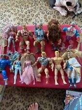 Vintage He-Man Motu Action Figures She-ra Lot Of 11 Figures