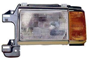Headlight Combination Assembly Left Maxzone 331-1107L-CSU