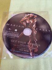 Mariah Carey Get You Number Picture Disc CD Australia 🇦🇺 Single
