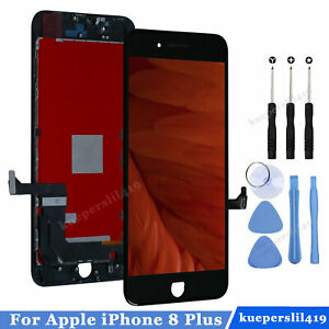 For iPhone 8 Plus LCD Display 3D Touch Screen Digitizer Replacement Assembly UK