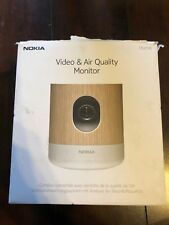 Nokia Home Video & Air Quality Monitor Camera Wi-Fi 5MP 1080P x12 Zoom WBP02 K33