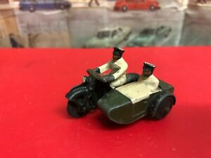 Dinky Meccano Motorcycle and side car die cast model