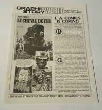 Graphic story world # 4, 1971 newsletter