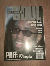 "BLUES & SOUL MAGAZINE ( APRIL 11 - 24 1995 ) ISSUE 686 SEAN "" PUFFY "" COMBS"