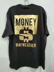 NWOT TMT Floyd Money Mayweather Gold Lettering Boxing T-Shirt  Mens XL