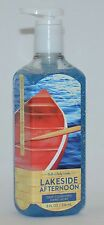 NEW BATH & BODY WORKS LAKESIDE AFTERNOON DEEP CLEANSING HAND SOAP WASH 8OZ LARGE
