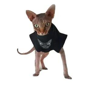 sizes EVIL CAT for a Sphynx cat, Sphynx cat clothes, Katzenbekleidung, HOTSPHYNX