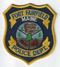Fort Fairfield Maine Police Department Patch ME PD