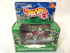 Rare 2000 Chicagoland Toys For Tots Motorcycle Parade Pow Mia Marines Red Bike
