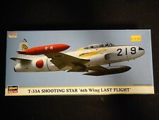 Hasegawa - T-33A Shooting Star '6th Wing Last Flight' (1:72)