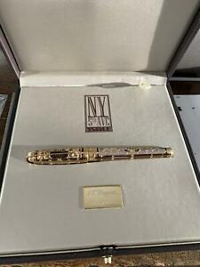 S.T. DUPONT ROLLERBALL PEN NEW YORK 5TH AVENUE LIMITED EDITION - NEW IN BOX
