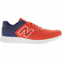 NEW BALANCE Men's Fresh Foam 574 Trainers, Red & Blue, size UK 9.5