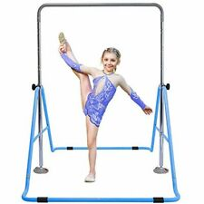 Gymnastics Bars Expandable Junior Training Bar Folding Horizontal Bars for Kids
