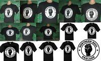 Northern Soul Stoke sur Trent T Shirt Lady Fit Noir