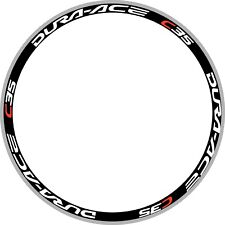 C35 Bicycle Wheel Stickers Replacement Dura Carbon Rim Decals For Two Wheels