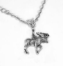 Moose necklace Moose Gift Moose charm Present Moose Pendant necklace best gift