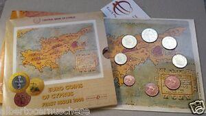 2008 CIPRO 8 monete 3,88 EURO ufficiale chypre cyprus zypern Кипр