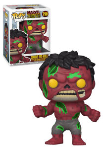 Funko POP! Marvel Zombies #790 Zombie Red Hulk  - New, Mint Condition