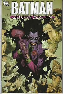 Batman Jokers Asylum - DC Comics Paperback 2008