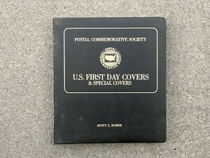 Postal Commemorative Society US First Day Issues & Special Covers 100 On Pages