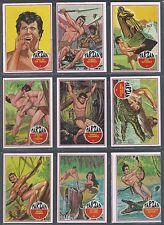 1966 Philadelphia Tarzan Complete Set of 66 Cards