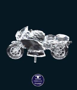 "[SPECIAL OFFER] ""Large Motorbike"" Austrian Crystal Figurine was AU$183.00"