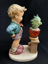 "Goebel Hummel 314 Confidentially Boy Talking To Cactus Tmk6 5-3/4"" Figurine"
