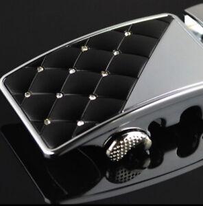 MENS DESIGNER BELTS FOR MEN iBELTS 35MM AUTOMATIC LUXURY LEATHER DIAMOND BELT L
