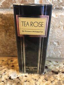 TEA ROSE The Perfume Work Shop LTD Eau de Toilette Women Vintage Spray 1.0 fl.oz