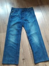 """DIESEL PHEYO RELAXED FIT 100% COTTON FADED MED BLUE JEANS W32"""" L29"""""""