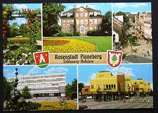 Pinneberg, Mehrbildkarte mit Wappen