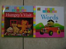 PLAY SCHOOL.  COME AND PLAY - HUMPTY'S VISIT + COME AND PLAY - WORDS.  S/C - VGC