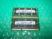 SAMSUNG 4GB DDR3 PC3-8500S 1066 Mhz per Notebook memoria (2x 2Gb Set)