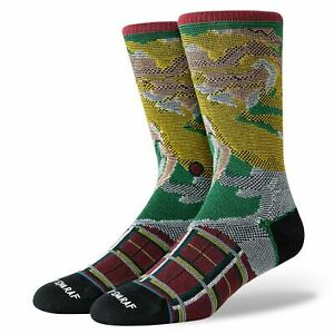 Stance Foundation Mens Socks ~ Burnt rainbow (size L)