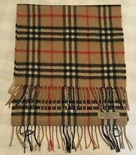 Burberry Haymarket Check 100% Cashmere Scarf (52 Inches)