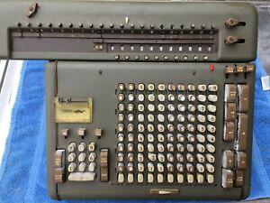 1950's FRIDEN STW-10 mechanical calculator, motor runs