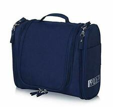 Toiletry Bag for Women and Men Travel Toiletry Bag Navy Blue Toiletry Kit  US